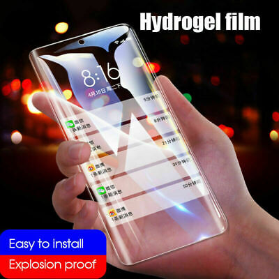 $ CDN3.26 • Buy Hydrogel Screen Protector Film For Samsung Galaxy S20 Ultra Note10 Protect Guard