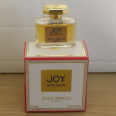 Joy By Jean Patou, Eau De Toilette, Miniature 3.5ml • 19.95£