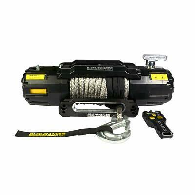 AU1245 • Buy Bushranger 4X4 Revo Winch Synthetic Rope-12,000lbs Recovery In Towing / Offroad