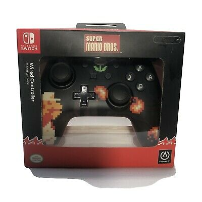 $19.99 • Buy PowerA Wired Controller For Nintendo Switch - 8-Bit Super Mario