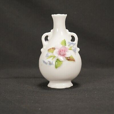 $11.50 • Buy Coalport Bone China Miniature Floral Vase Handmade And Painted In England SM1/61