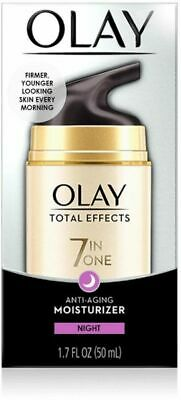 AU17.94 • Buy Olay Total Effects 7 In One Night Firming Moisturiser 50ml
