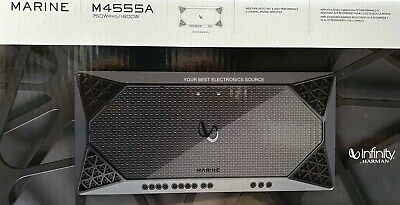 $ CDN462.13 • Buy NEW Infinity M4555A Marine Series, 4 Ohm Stable, 5-Channel Class-D Amplifier