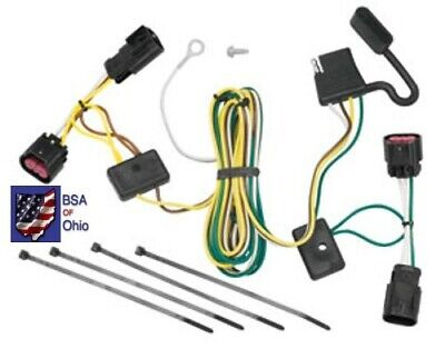 $34.75 • Buy Trailer Hitch Wiring Tow Harness For Chevrolet Malibu 2008 2009 2010 2011 2012