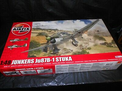 $19.99 • Buy Airfix 07114, 1/48 Junkers Ju87b-1 Stuka Plastic Model Kit