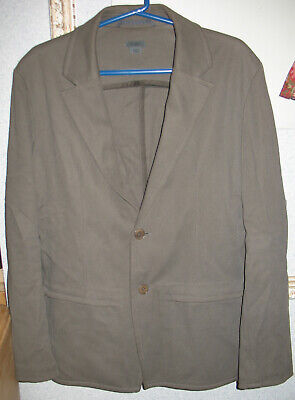 $ CDN65.78 • Buy Mens M M0851 Gray Casual 2-Button Single Breasted Sport Coat Jacket