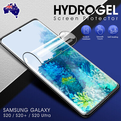 AU6.95 • Buy For Samsung Galaxy S20 FE Plus S20 Ultra HYDROGEL Full Cover Screen Protector