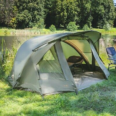 TF Gear NEW Airflow Bivvy Mk3 1 Or 2 Man Carp Fishing Tent & Overwraps Available • 99.99£