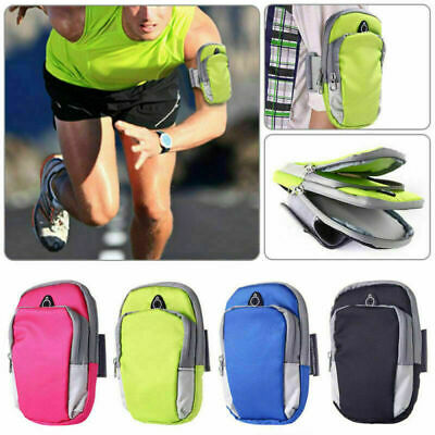 Universal Sport Running Riding Arm Band Pouch Case Bag For Mobile Phones Holder • 4.24£