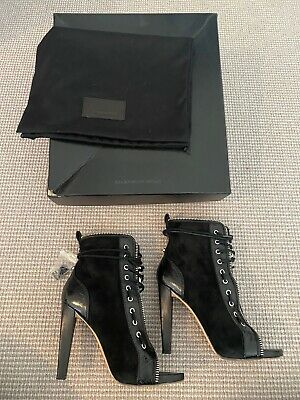 AU110 • Buy Alexander Wang Leather And Suede Boots. Size 39.