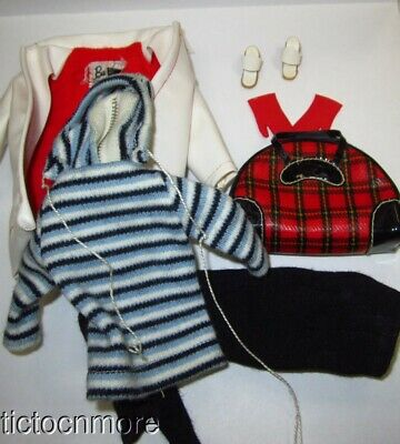 $ CDN15.56 • Buy Vintage Barbie Doll Fashion Clothes #975 Winter Holiday Set Almost Complete