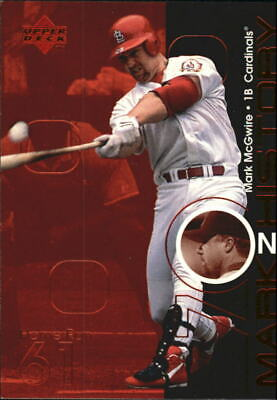 $4 • Buy 1999 Upper Deck Challengers For 70 Mark On History #M16 Mark McGwire 61 - NM-MT