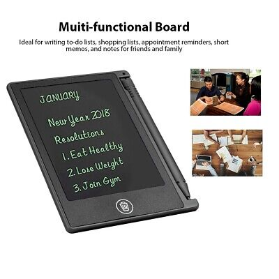 AU11.63 • Buy 4.5in LCD Writing Tablet Board Ultra-Thin Drawing Pad Memo Message Notepad Kid