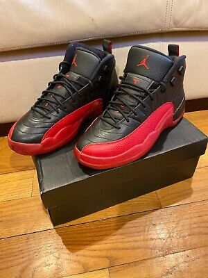 $155 • Buy Air Jordan 12 Flu Game Size 6.5 Men/youth PERFECT CONDITION Release May 2016