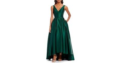 Petite Satin High-low Gown • 49£