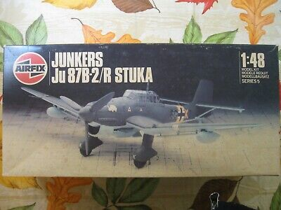 $7.95 • Buy VINTAGE AIRFIX 1/48 JUNKERS Ju87B STUKA #905100  Blueprint Box