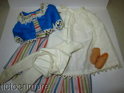 $ CDN17.68 • Buy Vintage Barbie Doll Fashion Clothes #823 Holland Travel Costume Complete