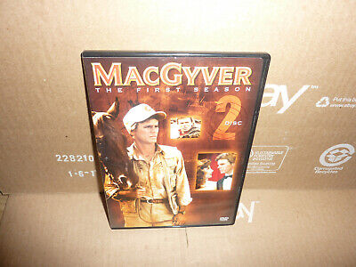 $10.22 • Buy Individual Replacement MacGyver (DVD SLIM CASE ONLY) Season 1 Disc # 2