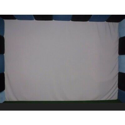 300x200cm Golf Ball Simulator Impact Display Projection Indoor Screen White • 79.99£