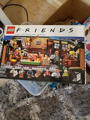 $32 • Buy LEGO Friends Central Perk BOX, ONLY THE BOX And BOOKLET!!! NO LEGO PIECES!!