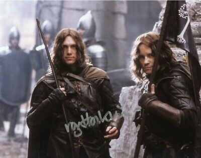 £29.99 • Buy LORD OF THE RINGS Royd Tolkien 'Ranger' Autograph Signed AFTAL & UACC DEALER