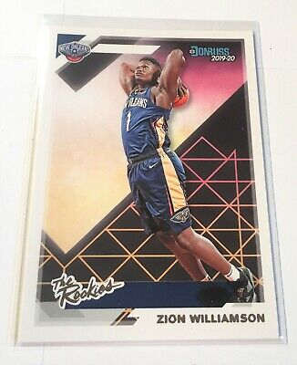 $24.95 • Buy Pelicans Zion Williamson Mint 2019-20 Donruss The Rookies Insert Rookie Card RC
