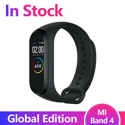 $29.99 • Buy Original Xiaomi Mi Band 4 Smart Miband Newest MusicBracelet Heart Blutooth Black