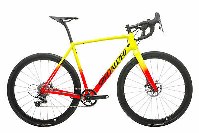$ CDN5174.19 • Buy 2019 Specialized CruX Expert Cyclocross Bike 56cm Carbon SRAM Force 1 11s Roval