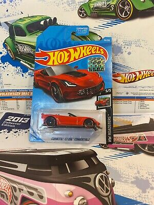 $0.59 • Buy Hot Wheels 2019 Factory Sealed Corvette C7 Z06 Convertible Red