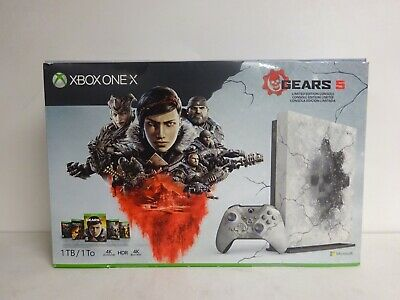 $324.99 • Buy Xbox One X Gears 5 Limited Edition Bundle (1TB) | Open Box | Includes Download!