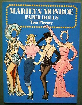 Marilyn Monroe Paper Dolls By Tom Tierney Dover Publications Usa 1979 • 5.99£