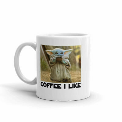 $13.99 • Buy    Mug       11 Oz. MUG BABY YODA COFFEE I LIKE,  FUNNY MUG