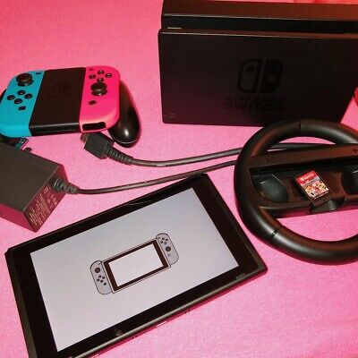 $ CDN475 • Buy Nintendo Switch Blue And Red + Super Mario 8. Used But Like New Condition.