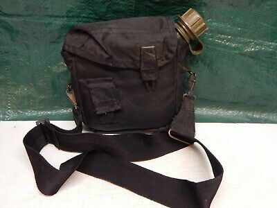 $ CDN20.01 • Buy VINTAGE! US Military 1985 2-QT Green Bladder Canteen & Black Insulated Cover