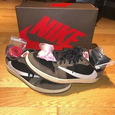 $450 • Buy Travis Scott × Air Jordan 1 Low  Mocha  - Men's Size 12 (CQ4277 001)