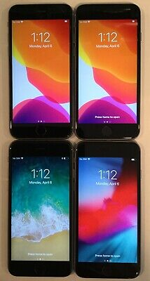 $ CDN290.64 • Buy LOT OF FOUR TESTED CDMA + GSM UNLOCKED AT&T APPLE IPhone 6S 32GB PHONES A160J