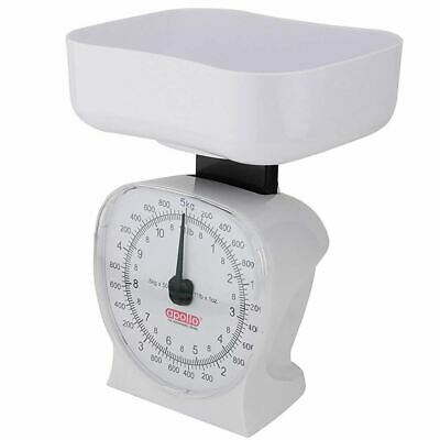 £8.99 • Buy 5kg Traditional Mechanical White Kitchen Scales Household Food Cooking Weighing