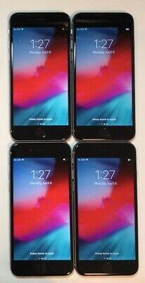 $ CDN1.40 • Buy LOT OF 4 TESTED SPACE GRAY GSM UNLOCKED GLOBAL APPLE IPhone 6, 16GB PHONES Q60T