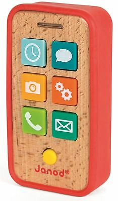 Janod PHONE Wooden Toys Games Preschool BN • 11.61£