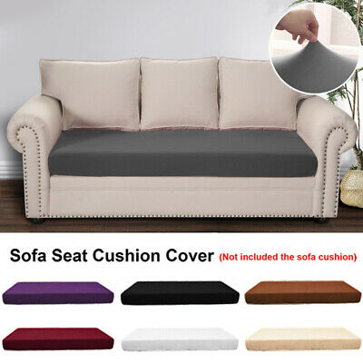 Waterproof Seats Stretchy Sofa Seat Cushion Cover Couch Slipcovers Protector • 6.89£