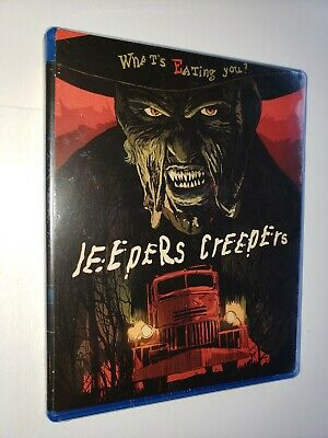 $14.99 • Buy JEEPERS CREEPERS Blu-ray Disc New/Sealed + Limited Edition Art Card