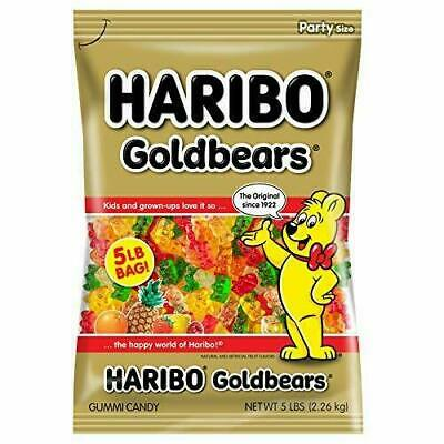 $17.98 • Buy Haribo Gold-Bears Gummi Candy, Original Flavor, 5-Pound Bag