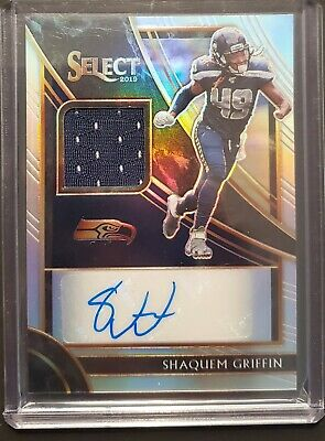 $0.99 • Buy SHAQUEM GRIFFIN 2019 Select JERSEY AUTO 99/99! SEATTLE SEAHAWKS