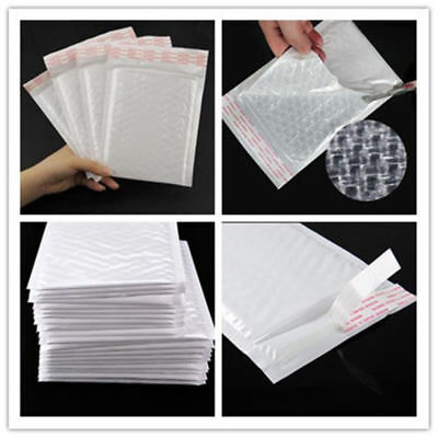 $ CDN9.21 • Buy Wholesale Plastic Poly Bubble Mailers Padded Envelopes Shipping Bags Self Seal