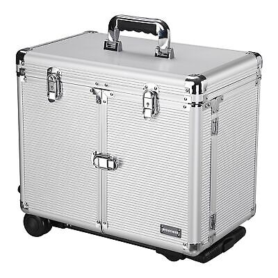 $84.90 • Buy Pro Rolling Makeup Case Trolley Hair Salon Train Box Cosmetic Tools Organizer