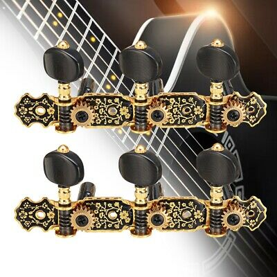 $17.99 • Buy 3L3R Gold Plated Acoustic Classical Guitar Tuning Pegs Gold Plated Machine Heads