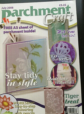 Craft Magazine, Parchment, July 2008. • 3£