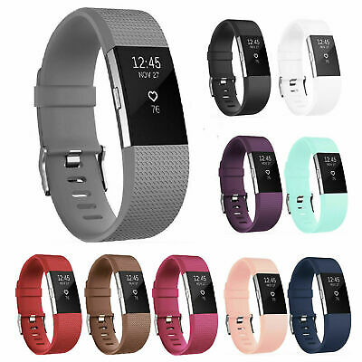 $ CDN30.31 • Buy Fitbit Charge 2 Small Silicone Replacement Bands - 10 Bands, Multiple Colors