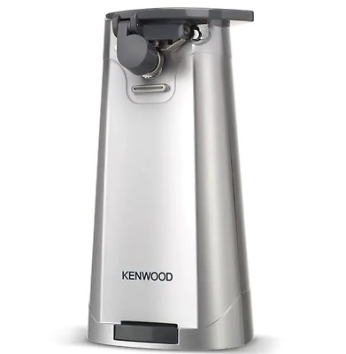 £14.99 • Buy Kenwood CAP70.A0SI 3-in-1 Electric Can & Bottle Opener Knife Sharpener Silver