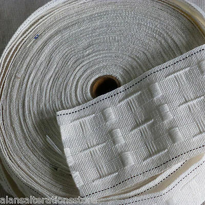 £1.25 • Buy 3   75mm Rufflette Curtain Pencil Pleat Header Tape Style Purchase By The Metre